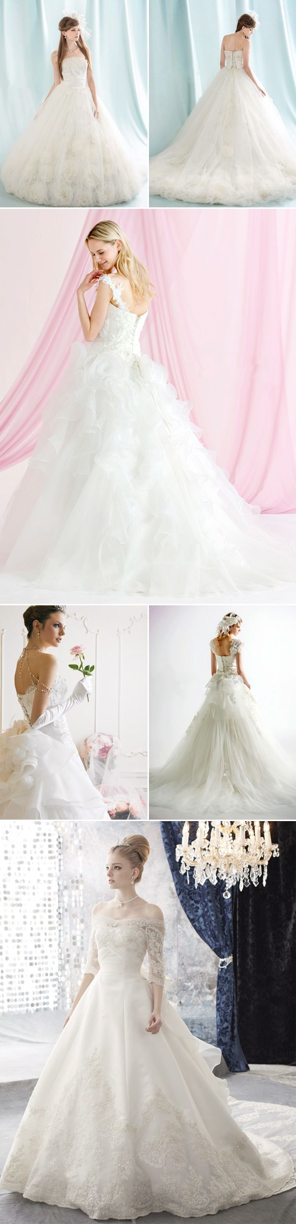 39 Classic Princess Wedding Dresses - Loletta Angelique