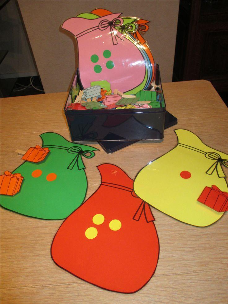 Kan je ook maken met kerstboom en het aantal kerstballen