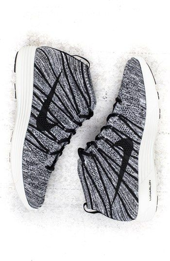 Nike 'Lunar' Flyknit Chukka Sneaker (Men) available at #Nordstrom