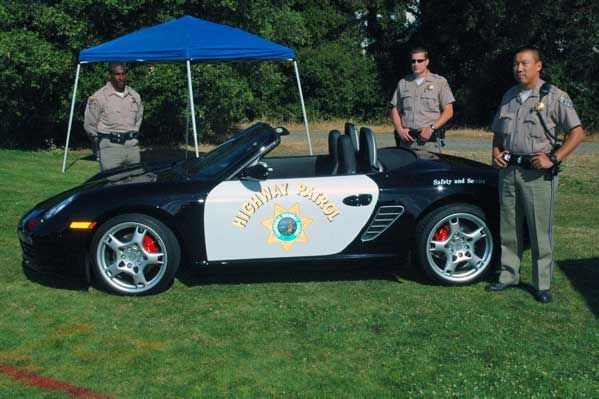 California Highway Patrol Orders 200 Porsche Boxsters