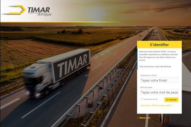 "Extranet ""Timar Afrique"""