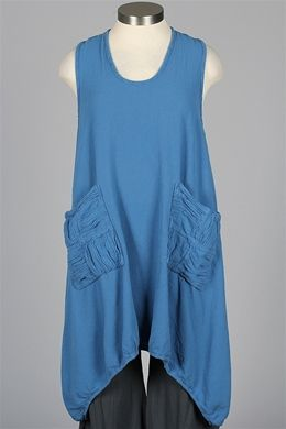 Oh My Gauze - Brad Vest - Denim