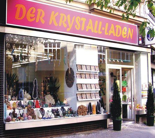 Der Krystall-Laden in der Wimersdorfer Straße 79