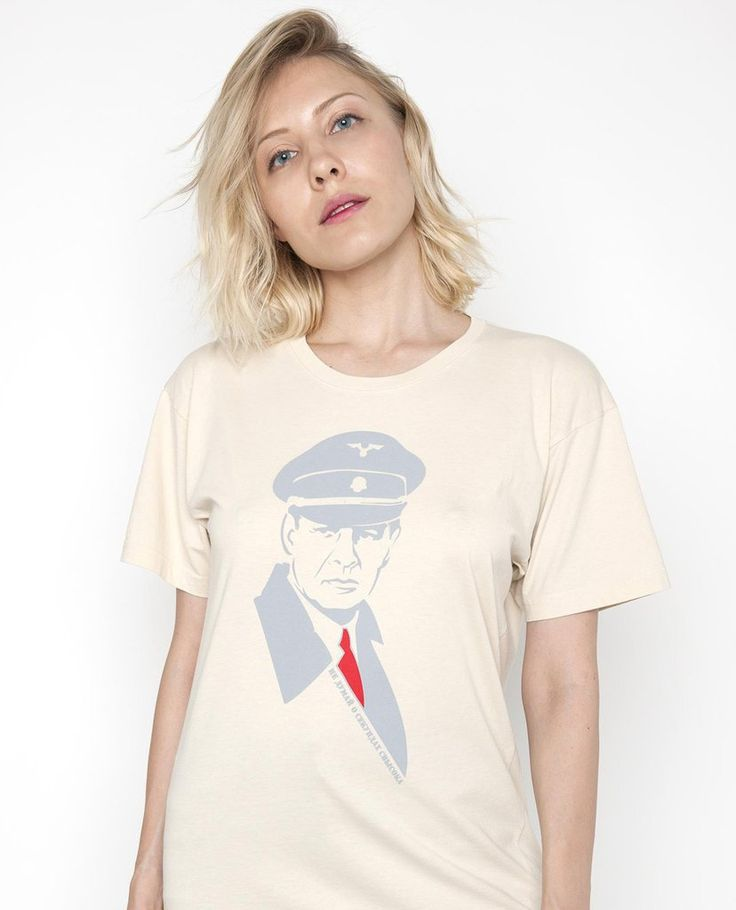 Shtirlitz Street Art Style Russian T-Shirt
