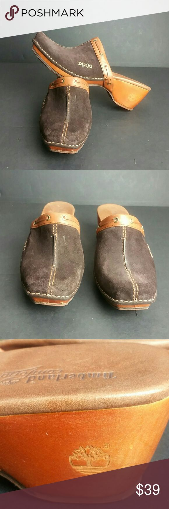 TIMBERLAND WOMEN CLOGS VERY CLEAN INSIDE-OUT   SKE # ZXPO Timberland Shoes Mules & Clogs