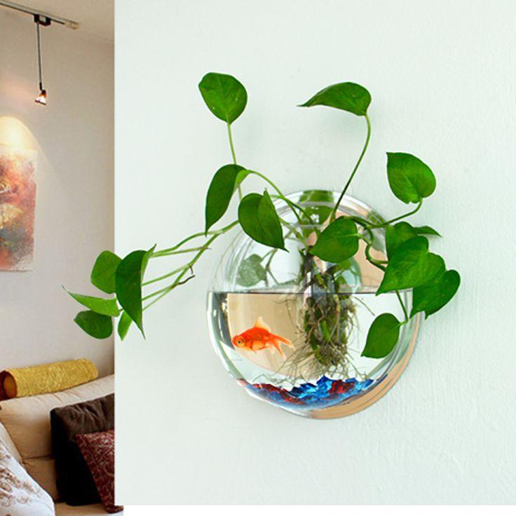 Best 20+ Fish tank wall ideas on Pinterest | Home aquarium ...