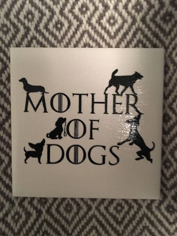 Love your pet? Show love for your fur babies and Khaleesi with these adorable made-to-order tile coaster. Pick your favourite design, or a few different ones to suit your personal taste! More designs to follow Tile coaster is 4.25 inches square and backed with felt to protect