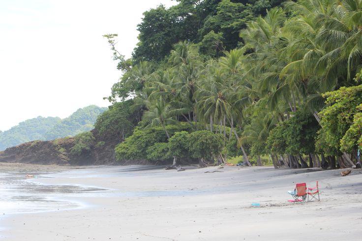 Costa rica beaches playa escondida next to herradura for Black sand beaches costa rica