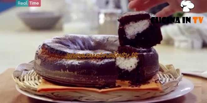 Torta ciocco cocco ricetta Benedetta Parodi da Molto Bene | Cucina in tv
