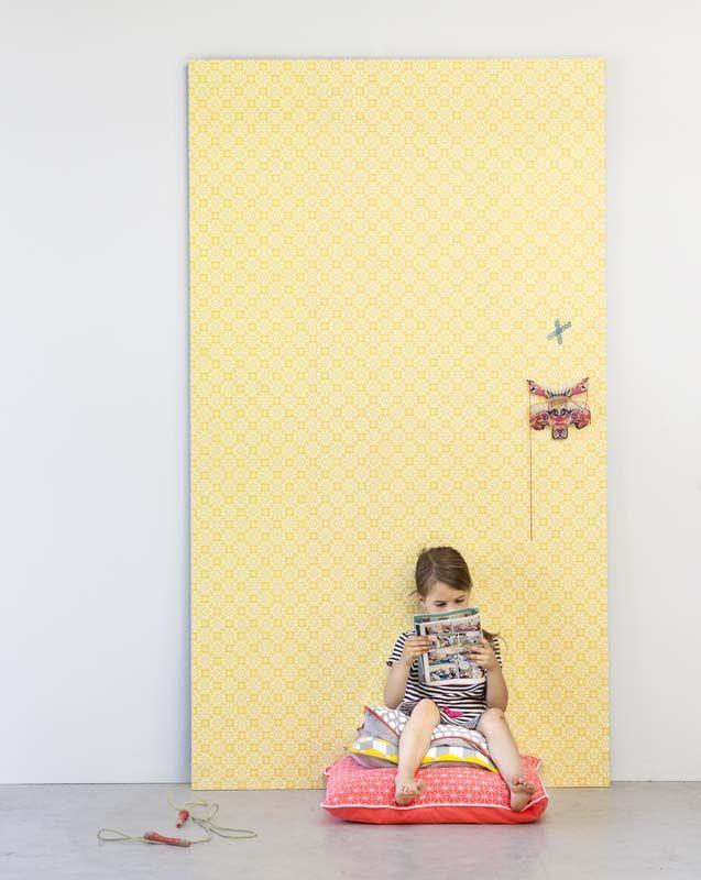 Karwei zonnig geel behang voor een stralende kamer wooninspiratie behang karwei karwei - Wallpapers voor kamer ...