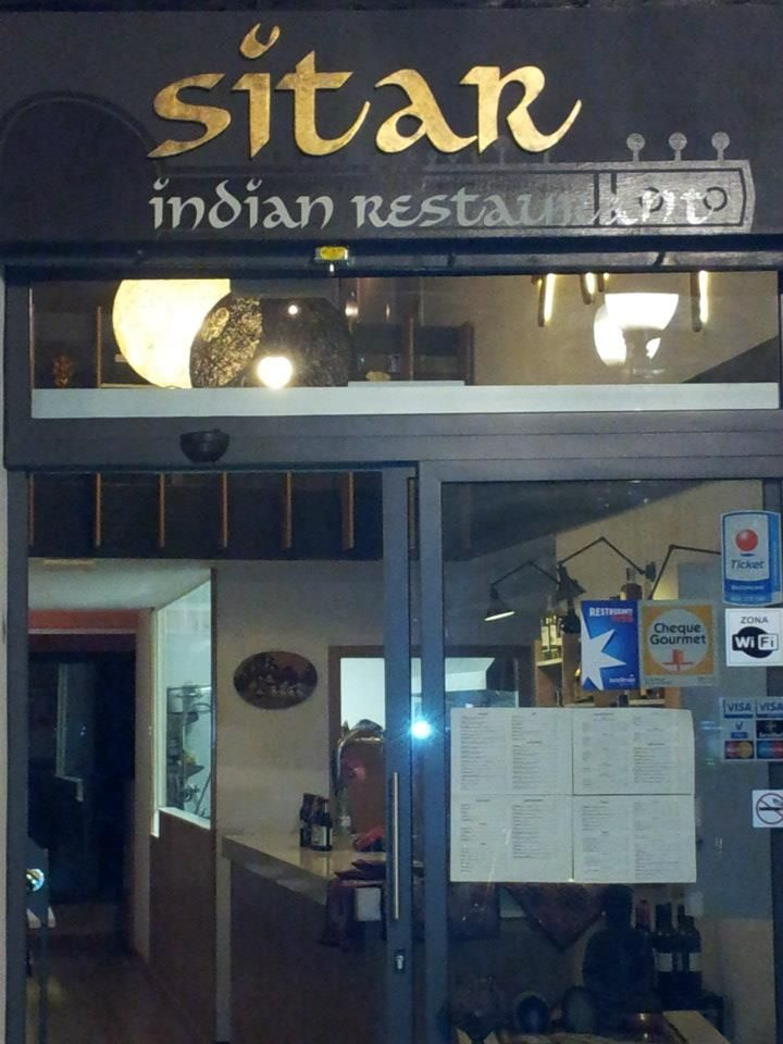 Sitar Indian restaurant Barcelona, Catalonia, Spain