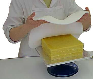 How to cover a cake in sugarpaste(Roll-out icing)