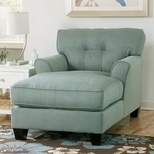 Buttonless Tufted Two-Arm Chaise | Nebraska Furniture Mart