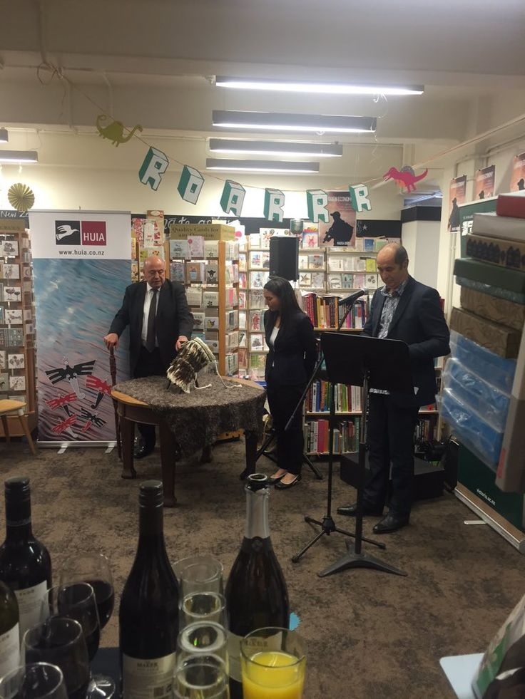 """Vic Books on Twitter: """"It's all launched - Congratualtions to Maria and @HuiaPublishers https://t.co/iRWpEN4Zd2"""""""