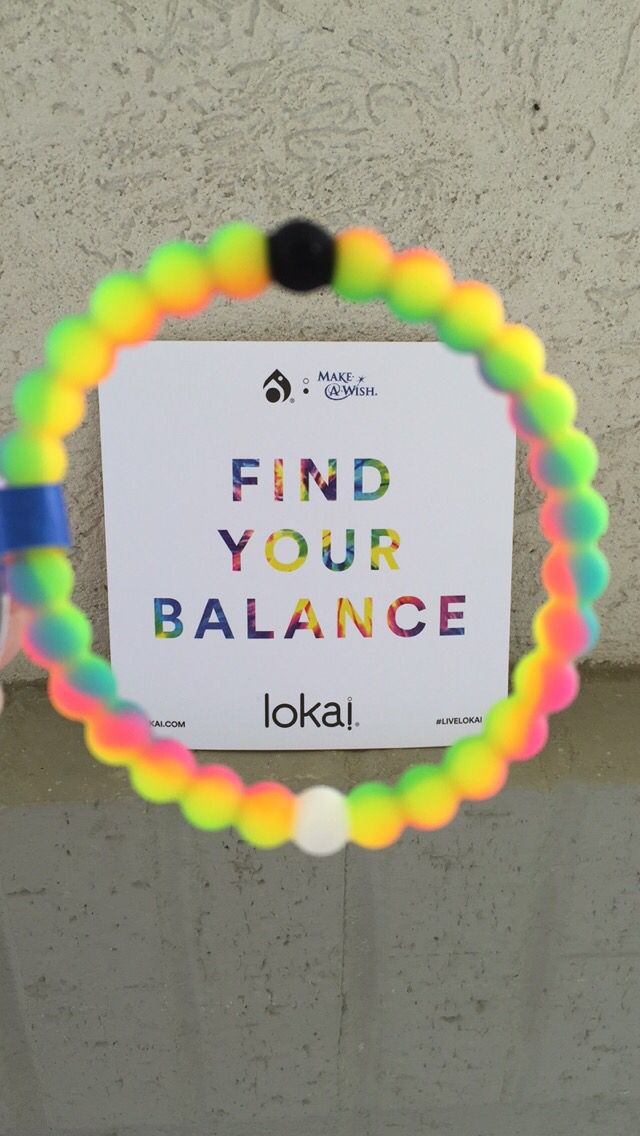 Neon Lokai benefitting the Make A Wish foundation