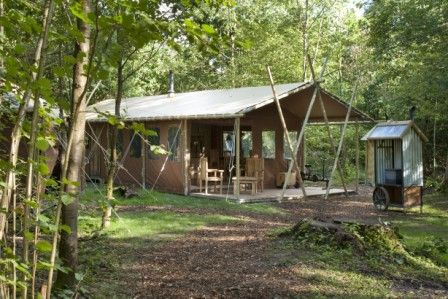 Glamping with Featherdown Country Retreats in The Lake District