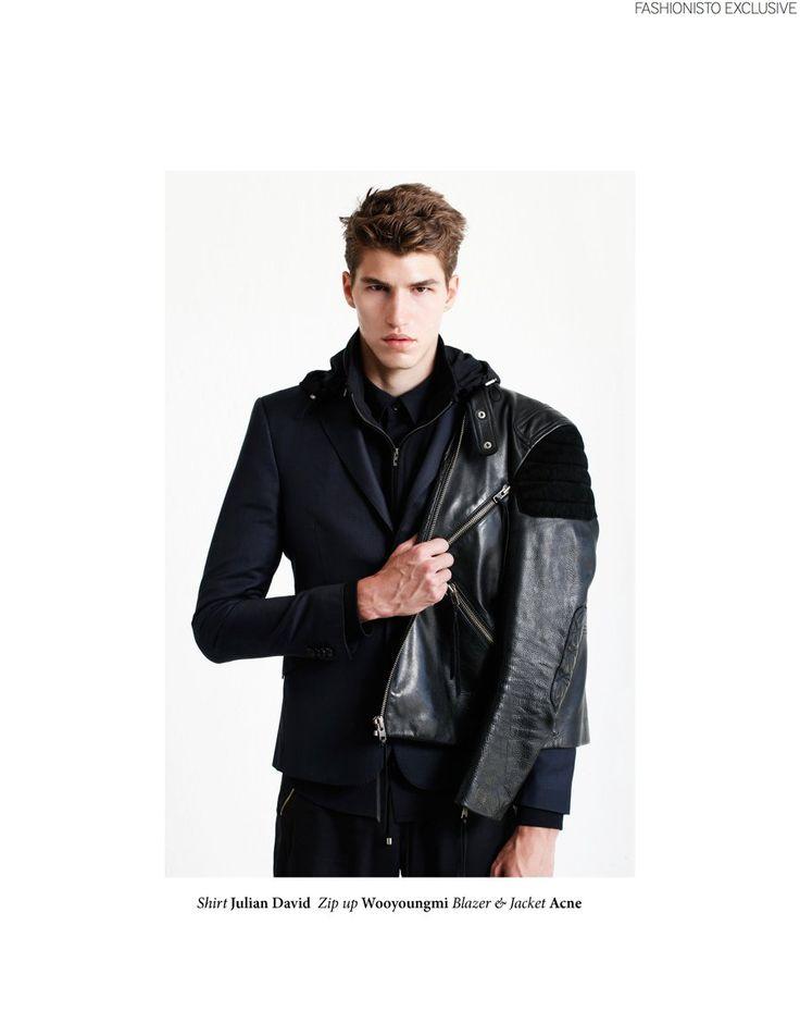 Fashionisto Exclusive: Brandon by Tyler Adams image Fashionisto Exclusive Brandon 001