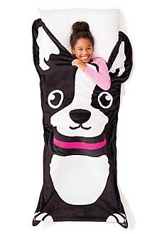 boston terrier oversized blanket