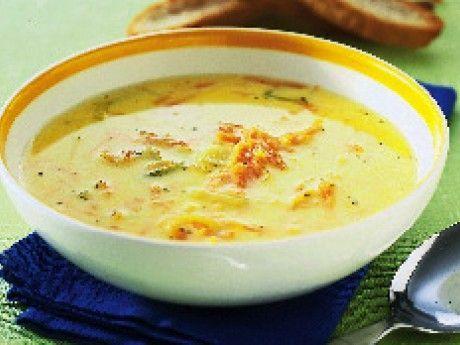 En god och mycket enkel soppa som, dessutom är billig. Den görs helt klar på bara 10 minuter. Passar att servera till lunch eller middag, gärna med plättar efteråt.