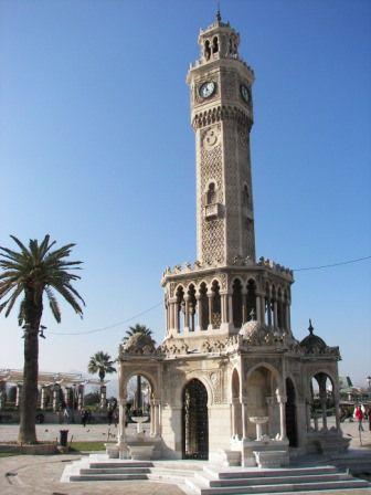 Torre del Reloj Esmirna #turquia #izmir