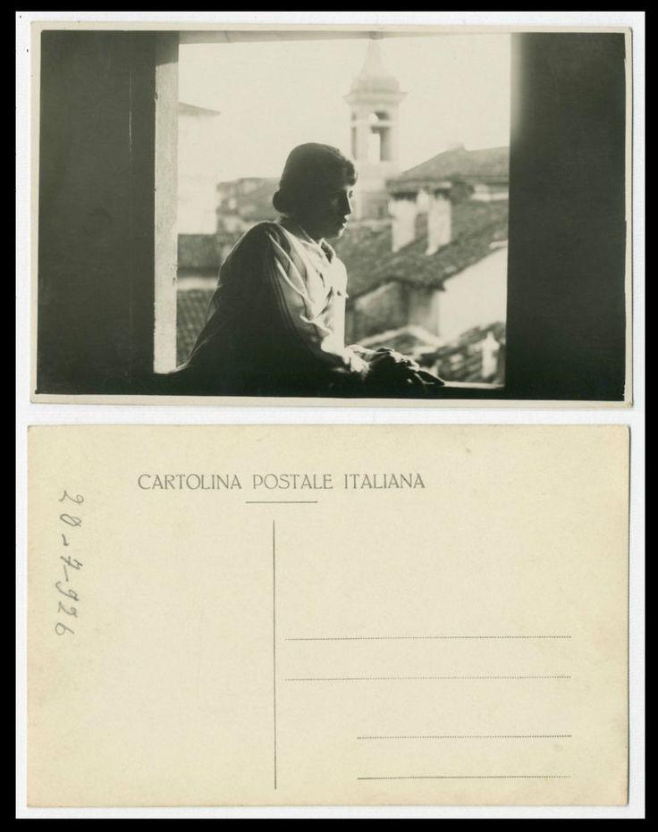 NERINA h FOTO RITRATTO D EPOCA DI SANTINO SALARDI-SAN GIOVANNI IN PERSICETO 1926