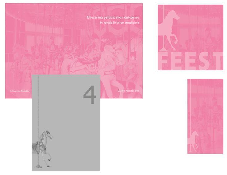 Cover - Proefschrift van Carlijn van der Zee.