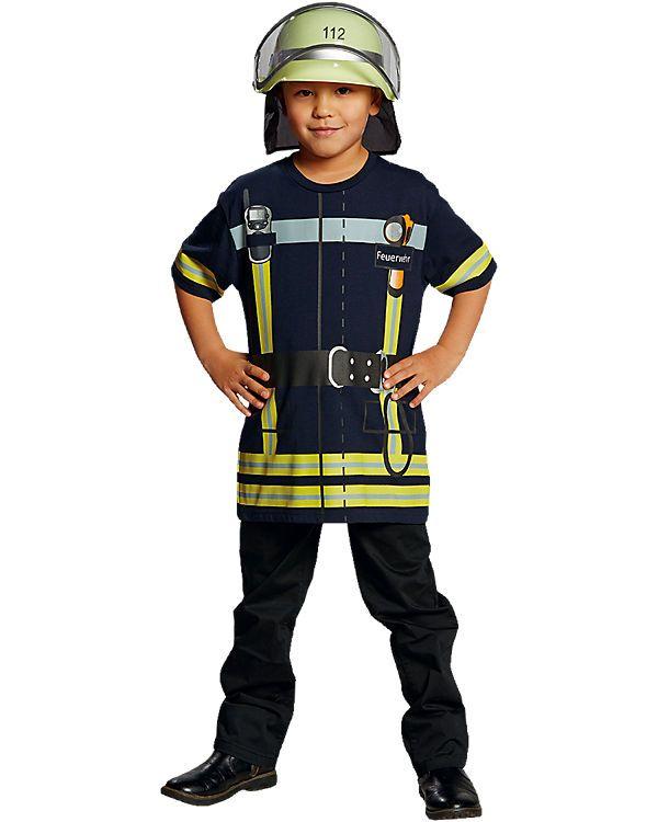 Spieleshirt Feuerwehr Blau Jackets Motorcycle Jacket Blue