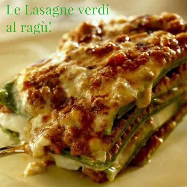 Porta un po' di gusto nella tua tavola! Le lasagne verdi del #matterello! #food #foodporn