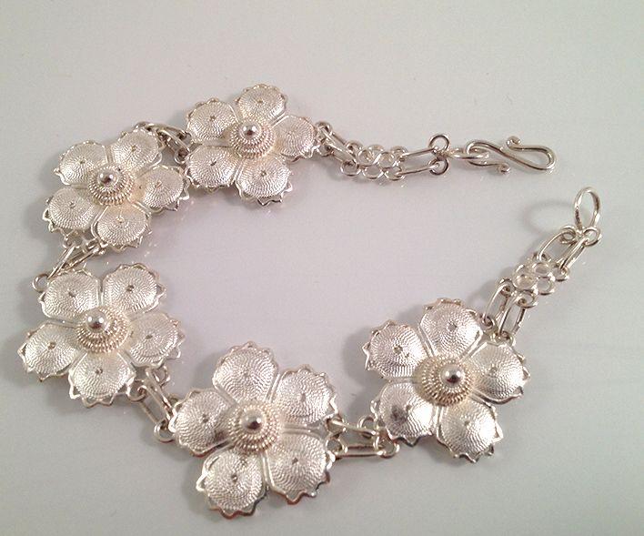 Handmade silver bracelet. www.springjewelry.ecrater.com