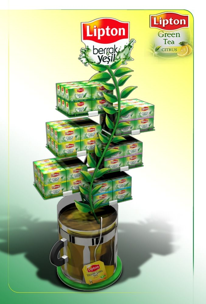 Lipton will be present at #MPV2016 to feature its new drink Lipton Green Ice Tea   More info : www.mpv-paris.com  (Display Design by ibrahim BOZKURT at Coroflot.com)