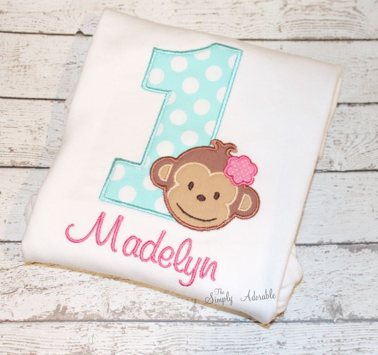 Girl's Monkey Birthday Shirt, Personalized Monkey Birthday, Girl's Monkey Shirt, Zoo Birthday, Jungle Birthday, Safari Birthday by thesimplyadorable on Etsy https://www.etsy.com/listing/150719404/girls-monkey-birthday-shirt-personalized