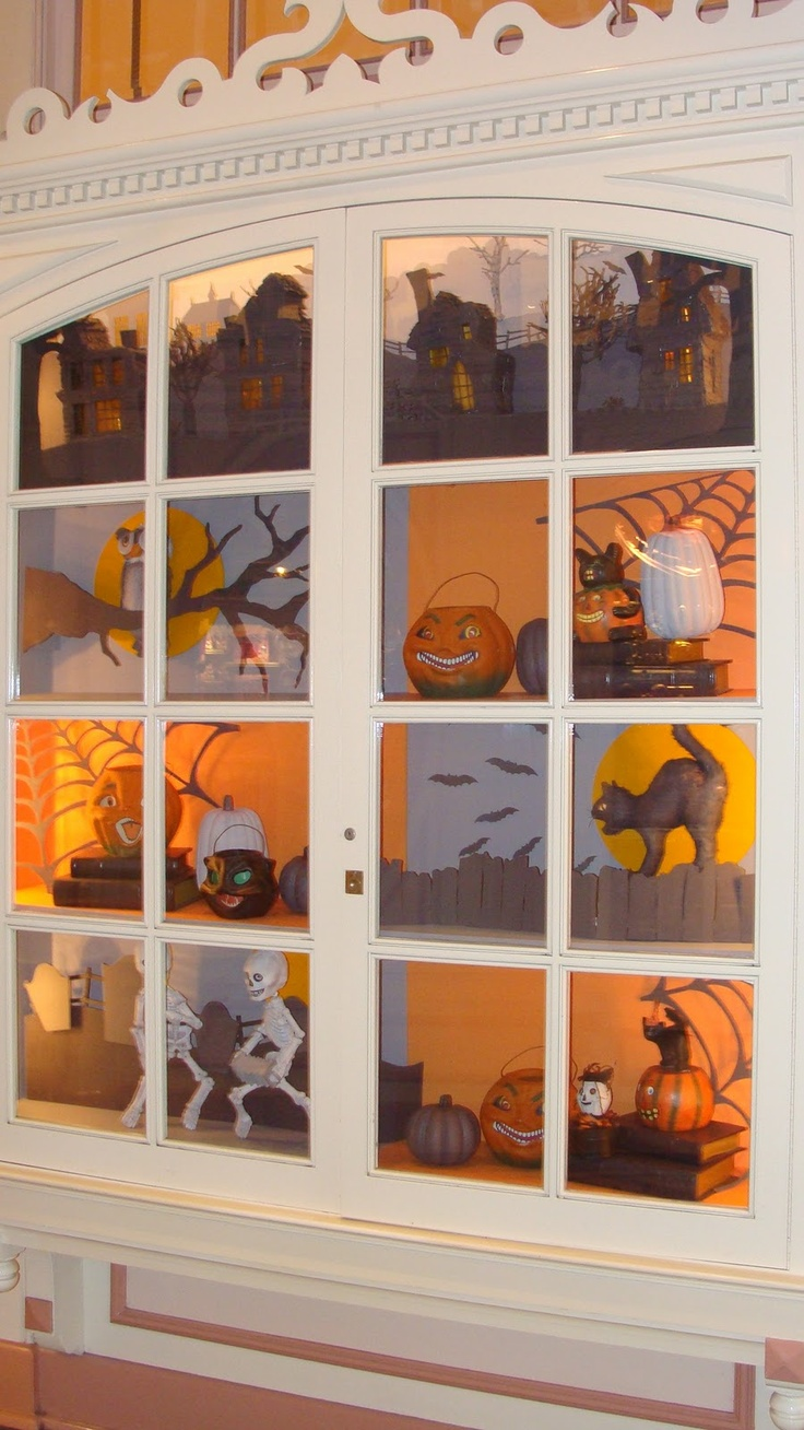 1487 best ☠ Fright Night ☠ images on Pinterest Halloween stuff - Window Halloween Decorations