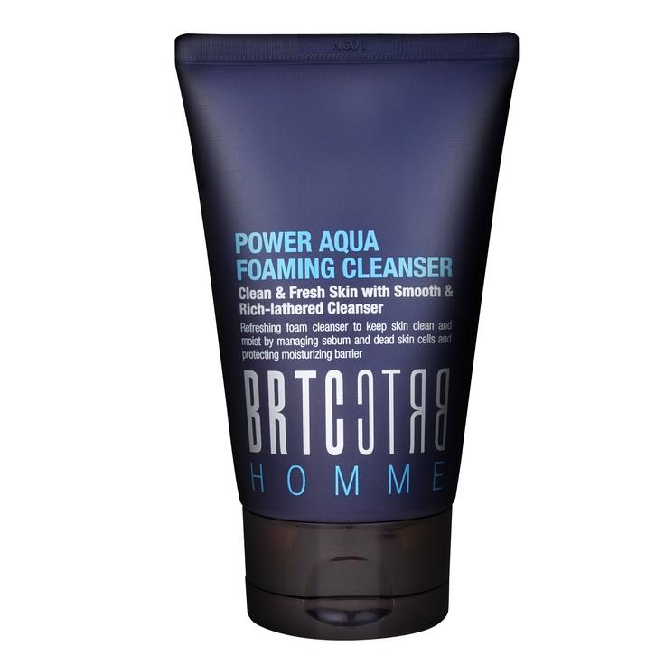 New BRTC Power Aqua Foaming Cleanser for men! #MensSkincare #KoreanSkincare #FoamingCleanser