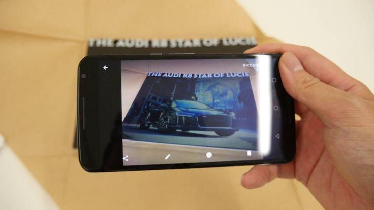 KINGSGLAIVE FFXVに登場する「The Audi R8 Star of Lucis」のコンセプトブック