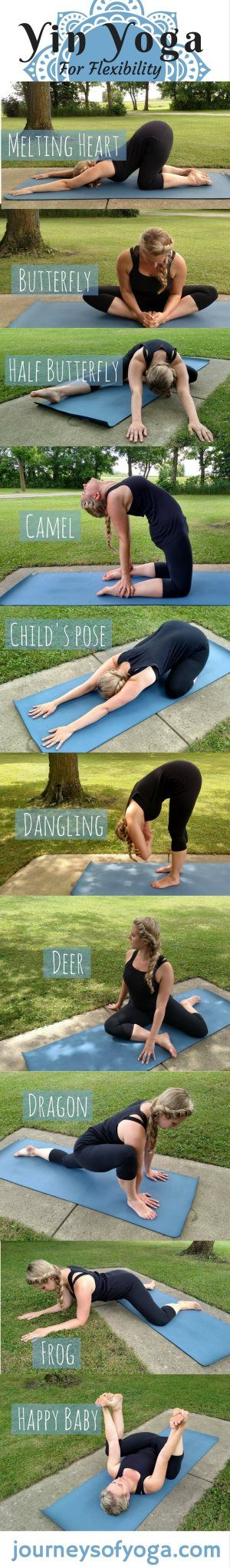 More poses in the post, plus yin yoga benefits | Posted By: NewHowToLoseBellyFat.com