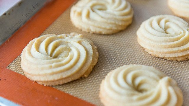 Butter Swirl Shortbread Cookies are a great recipe for Christmas cookies and holiday baking. They taste like the tin Danish butter cookies!