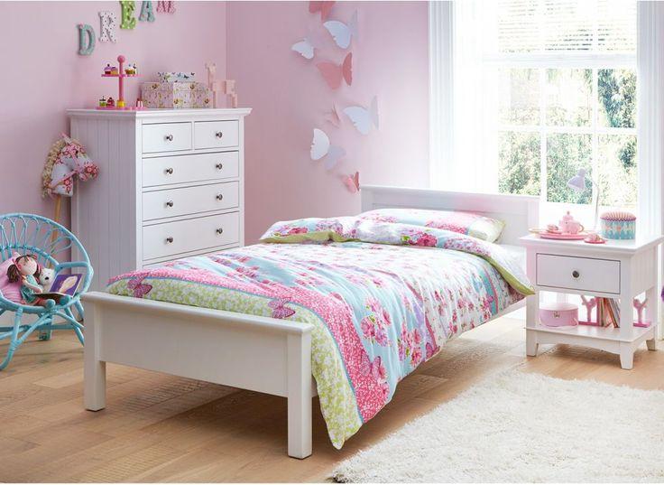 White Wood Bed Frames best 25+ white single bed frame ideas only on pinterest | white