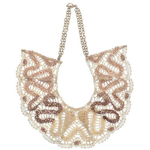 Emma Cassi lace necklace
