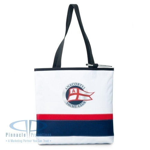 Oasis Convention Tote features color blocking and front pen loop #americanclassic