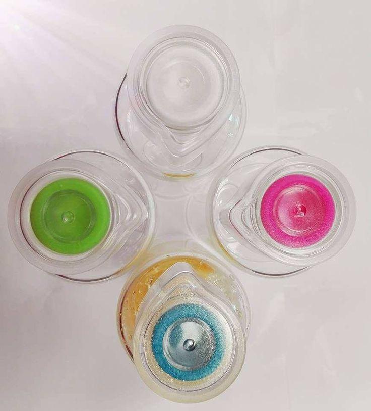 Korki butelek szklanych w formie kropelki wody