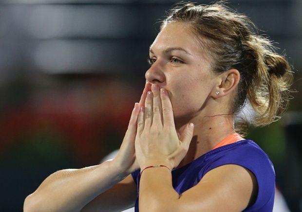 The top seed defeated 17th seed Karolina Pliskova, 6-4, 7-6 (4). (AP Photo)