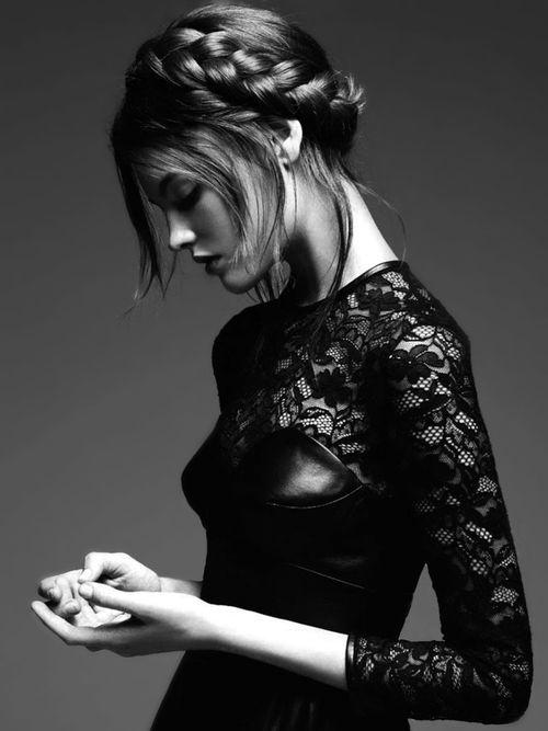 "Montana Cox in ""Brave New Look"" by Nicole Bentley for Vogue Australia"