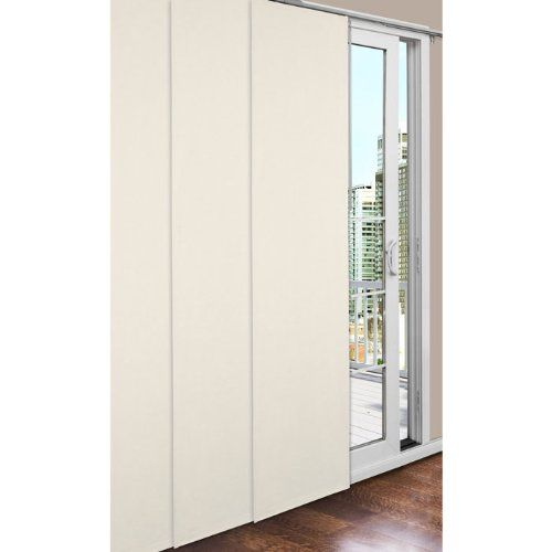 Commonwealth home fashions thermalogic insulated sliding for Panel tracks for patio doors