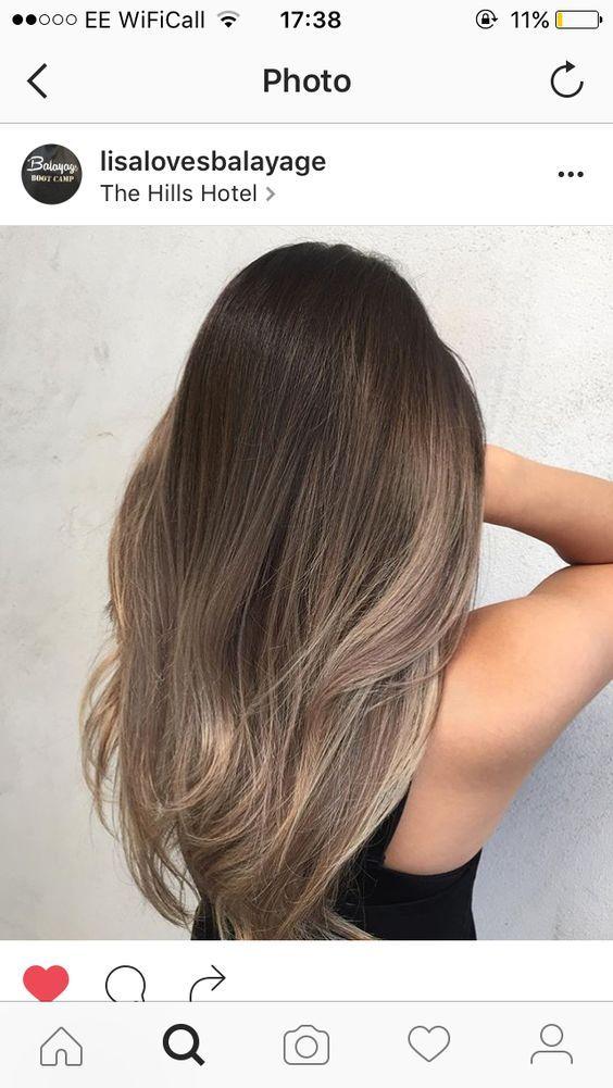 Trend Women Hair Colors: Magical Brown Hair Color 2017 hairstyle hairstyle 2019 # hairstyle trends