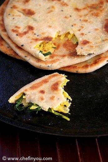 Mooli Paratha Recipe | Muli Paratha  | Indian Paratha recipes