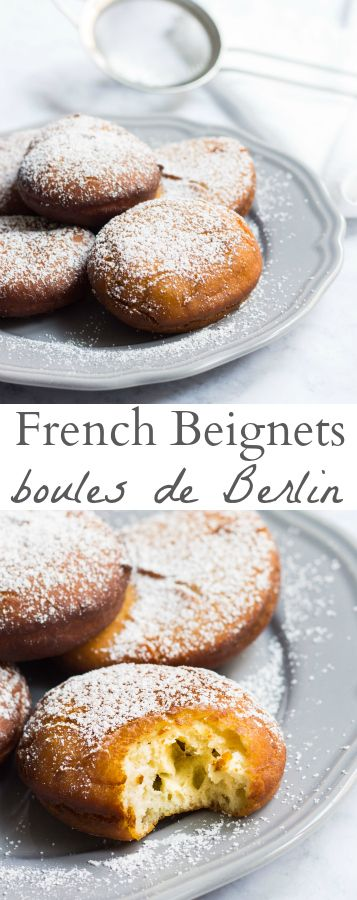 These authentic French beignets are just like the soft, pillowy clouds you will enjoy on the streets of Paris. Recipe via MonPetitFour.com