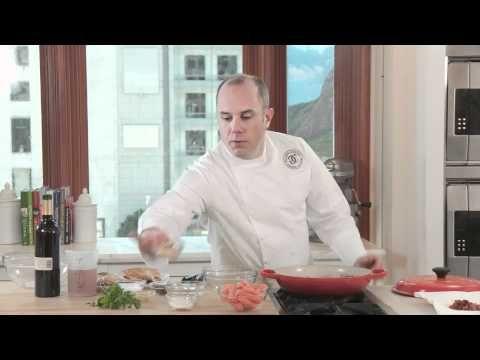 using the Le Creuset Signature Braiser - Coq au Vin video by Williams-Sonama