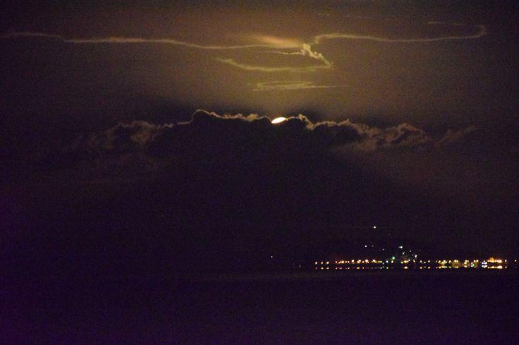 Seeing pearl Fuji but cloud interrupting.