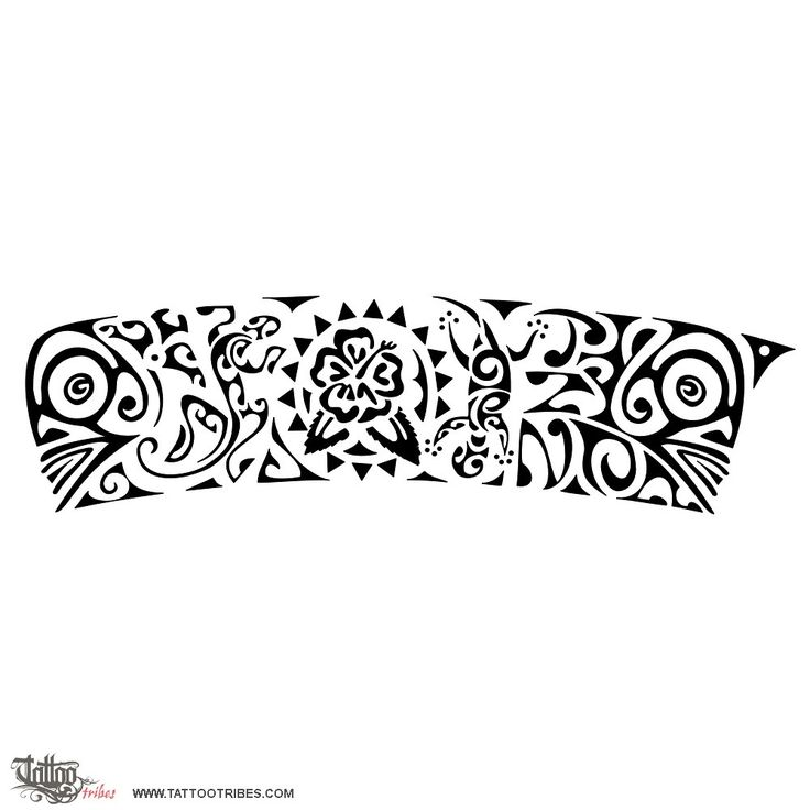 Tatuaggio di Musica, Bracciale tattoo - custom tattoo designs on TattooTribes.com