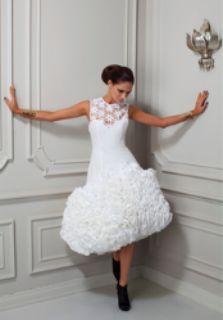 Kleenex Paper Dress by Kapi Fonua